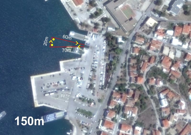 Kids triathlon swim 150m