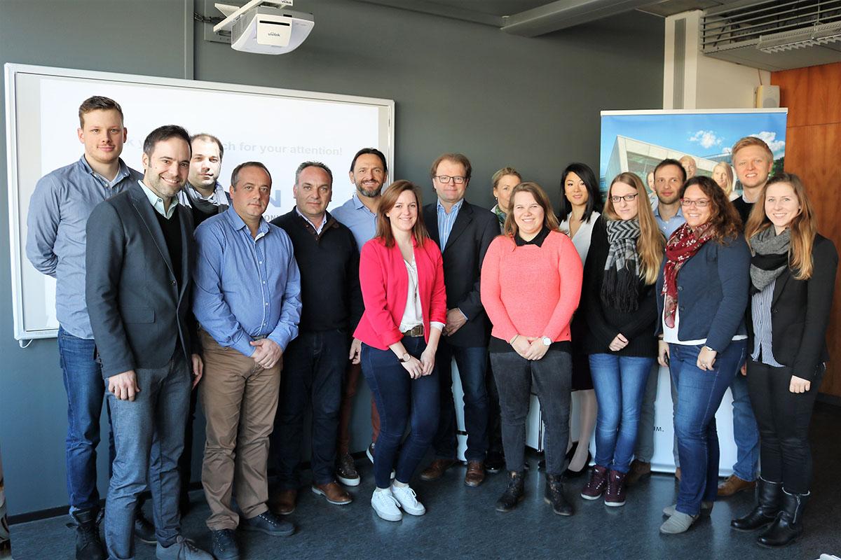 επίσκεψη στο Πανεπιστημίου Heilbronn της Γερμανίας